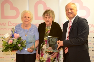Citizen Winner Irene Crabtree and Joan Milburn 2014